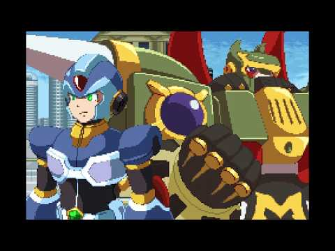 Maverick Hunter X: Giga Mission - Massimo Joins Up With X Scene