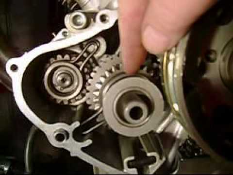 Yamaha Virago Motorcycle Starter Bendix Explanation  Fix Pt 1 - YouTube