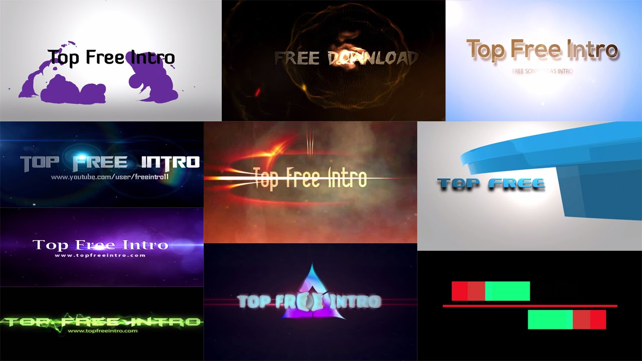 sony vegas pro 9 templates free download - top 10 free intro templates sony vegas pro 13 intro