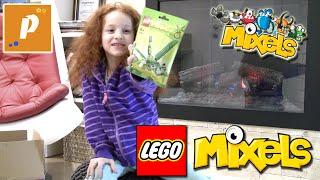 Распаковываем посылку с лего игрушками, миксели, ниндзяго Unboxing package lego mixels ,  ninjago