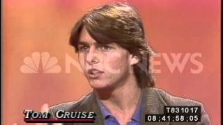 1983: Tom Cruise reveals how he disciplines himself for a role - www.NBCUniversalArchives.com