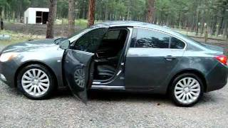 Introduction review of a brand new 2011 Buick Regal CXL.