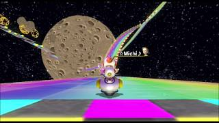 [Mario Kart Wii 300cc TAS] 3DS Rainbow Road 1:03.454
