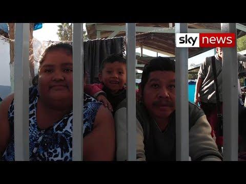 Mexico border: Migrant caravan becoming humanitarian crisis