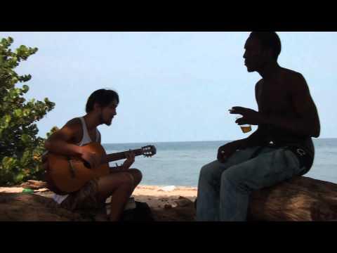 Tóke with Friend, Runaway Bay, Jamaica