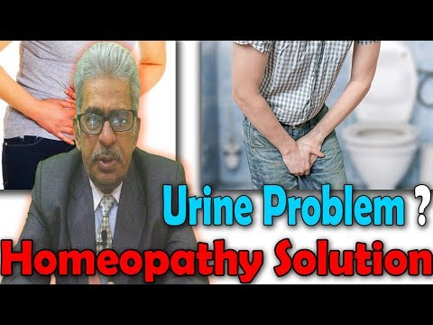 Types of Urine Problem and its Homeopathy Medicine