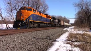 Railfanning the NS featuring Jersey Central Heritage on 65V