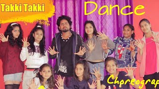 TAKI TAKI - DJ Snake Ft Selena Gomez DancenChoreography by Sachin spidy