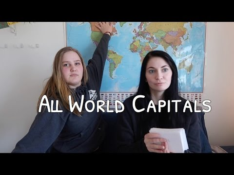 All World Capitals in Under 5 Minutes
