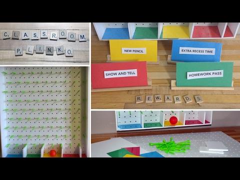 Diy Review Game Plinko Board