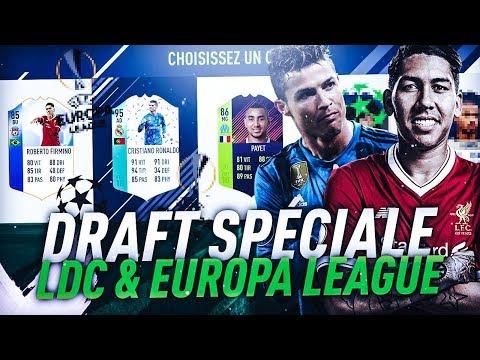 FIFA18 - DRAFT : SPECIALE LDC + EUROPA LEAGUE