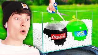 cool science experiment videos (coke vs mentos)
