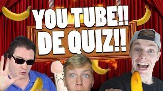 YOUTUBER MET DE GROOTSTE PE.. BANAAN?!! - De YouTube Quiz!!