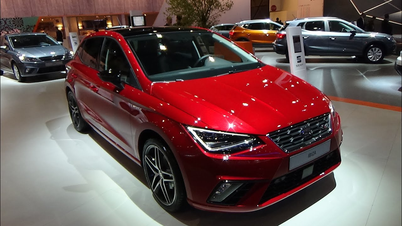 2018 seat ibiza fr exterior and interior auto show brussels 2018 youtube. Black Bedroom Furniture Sets. Home Design Ideas