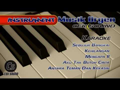 Instrument Orgen Cek Sound Panggung Entertainment