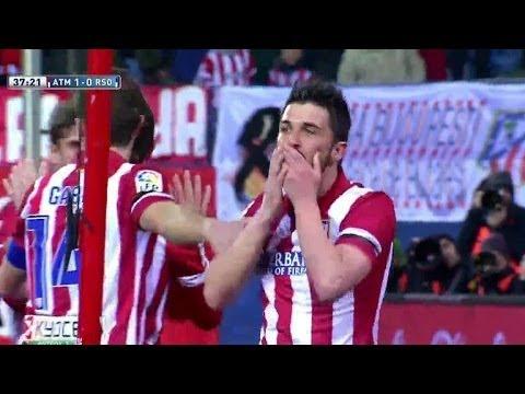 Atletico Madrid vs Real Sociedad 4-0 | All Goals & Highlights 02.02.2014