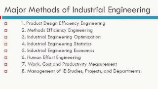 Introduction to Industrial Engineering - Slideshow