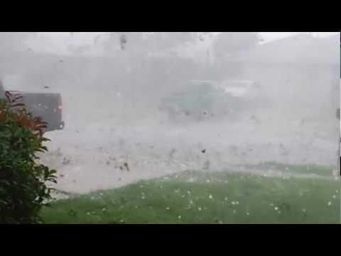 Lawton, Oklahoma Hail Storm