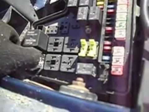 2003 ram fuse box relay 73 - YouTube