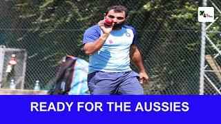 India tour to Australia | Mohammed Shami rings alarm bells for Australian batsmen | INDvsAUS