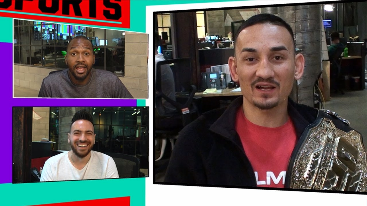 Max holloway to conor mcgregor i m the champ now tmz sports