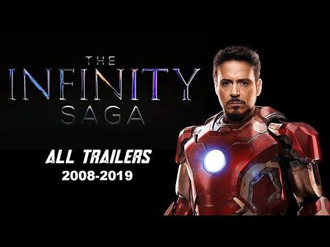 All Marvel Cinematic Universe Trailers - The Infinity Saga [2008-2019/ Deluxe Edition]