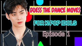 K-POP GAME GUESS THE DANCE MOVES FOR K-POP IDOLS (Episode1)