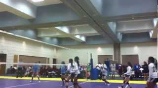Outstanding volleyball (Keep their age in mind)