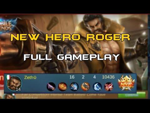 Mobile Legends Roger Full Game play!