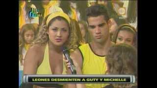 Esto es Guerra: Primera pelea entre Melissa Loza y Guty Carrera - 13/02/2013