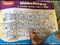 Hidden Pictures Poster from Highlights