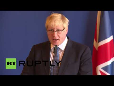 France: Boris Johnson meets French counterpart for first time