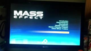 Lets play mass effect part 1 BONUS DISK SHITTTT