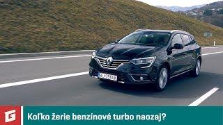 RENAULT MEGANE TCe 140 GPF  vs 160 GPF EDC - diaľničná spotreba- GARÁŽ.TV