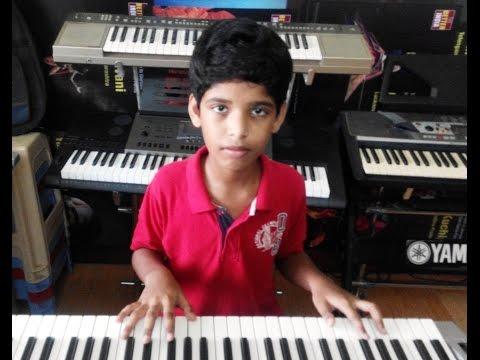 pranaamam from janatha garage on keyboard by abhinav preetam