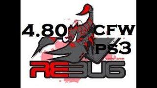 jailbreak ps3 2504B code data 0C de joao en 4.80 dex rebug !!