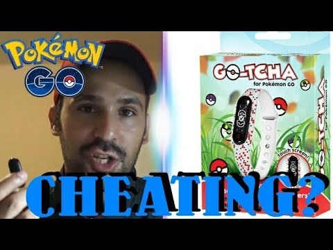 IS THIS CHEATING? GO-TCHA REVIEW - AUTO CATCH DEVICE FOR POKEMON GO