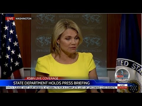 LIVE STREAM: U.S. Department of State BRIEFING on North Korea 8/10/17