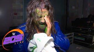 The Brian Kendrick reacts to Tajiri's green mist: WWE 205 Live Exclusive, Jan. 3, 2017