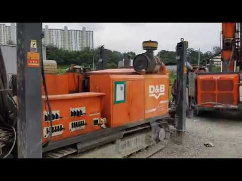 [ Winwin Used Machinery ] Used Exploration Drill Hanjin D&B Power 7000D 2013yr For Sale