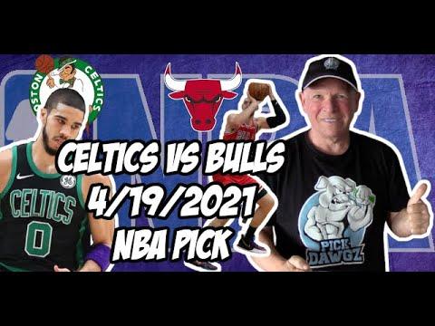 Boston Celtics vs Chicago Bulls 4/19/21 Free NBA Pick and Prediction NBA Betting Tips