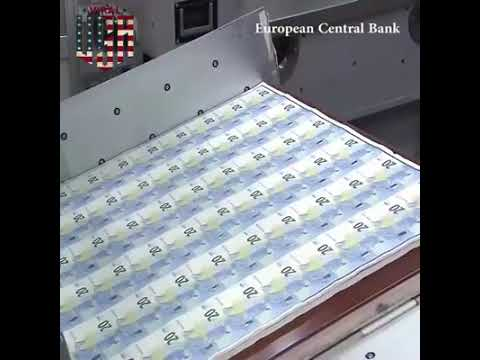 Money Printing Production More info www new-euro-banknotes eu by B M C