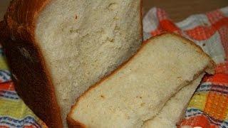 Белый хлеб на сыворотке с яблочным пюре  Рецепт выпечки