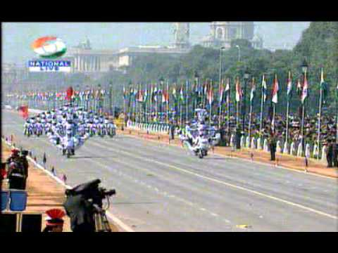 Royal Enfield - Signal Corp Motorcyclists - Republic Day of India - 2011