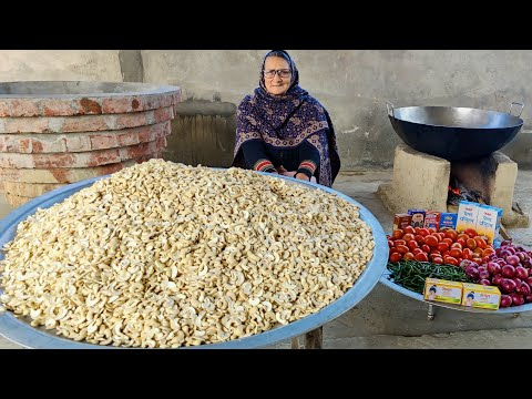 KAJU RECIPE BY MY GRANNY | CASHEW NUTS RECIPE | INDIAN RECIPES | VILLAGE COOKING | VEG RECIPES