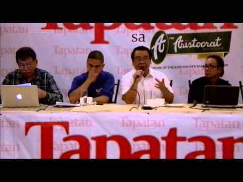 TAPATAN: Focus on PDAF, DAP and People's Initiative
