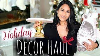 Holiday Home Decor Haul - MissLizHeart