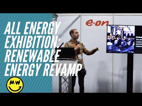 All Energy Exhibition Renewable Energy And Crypto Mining Blockchain