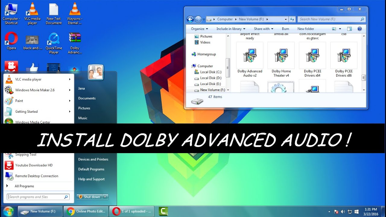 dolby audio driver 7.2.7000 download