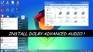 видео Загрузить - Dolby Advanced Audio для Windows 7